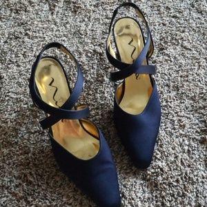 Nina Blue Heels 9M